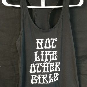 Not LIKE Other GIRLS TANK TOP